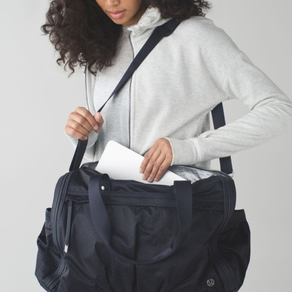 17503826d2 lululemon athletica Handbags - Lululemon Urban Warrior Duffel Bag reflective